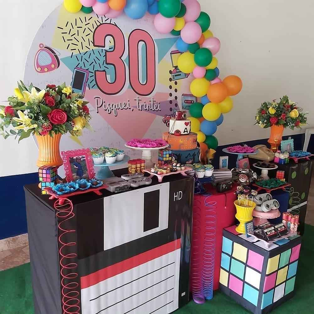 painel anos 90