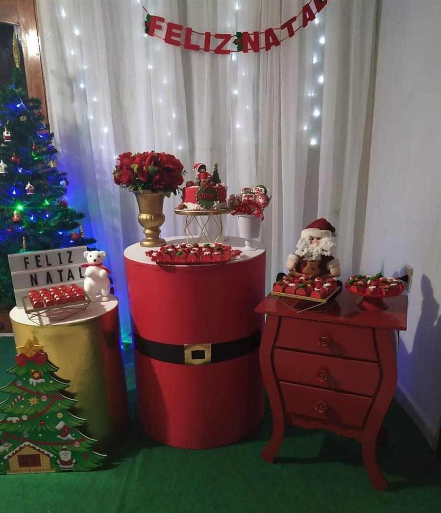 decoração festa natal
