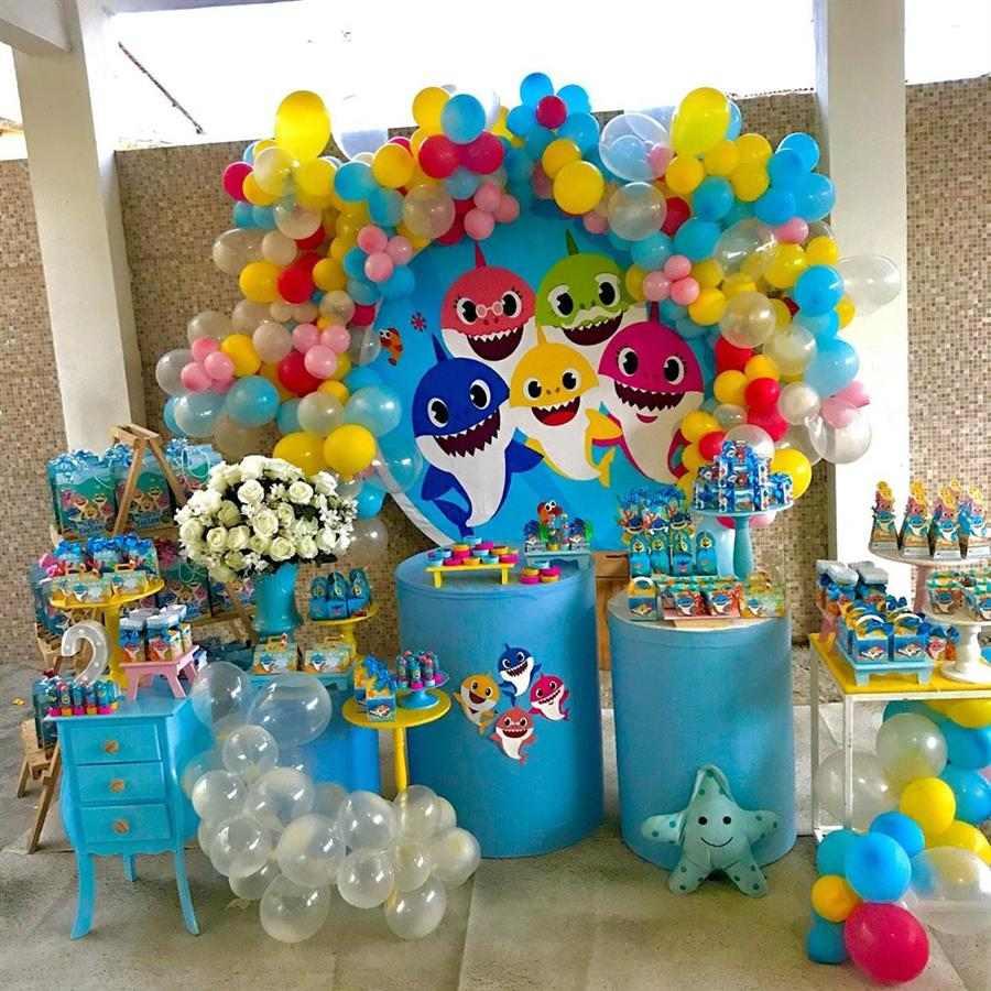 Festa babyshark minetable