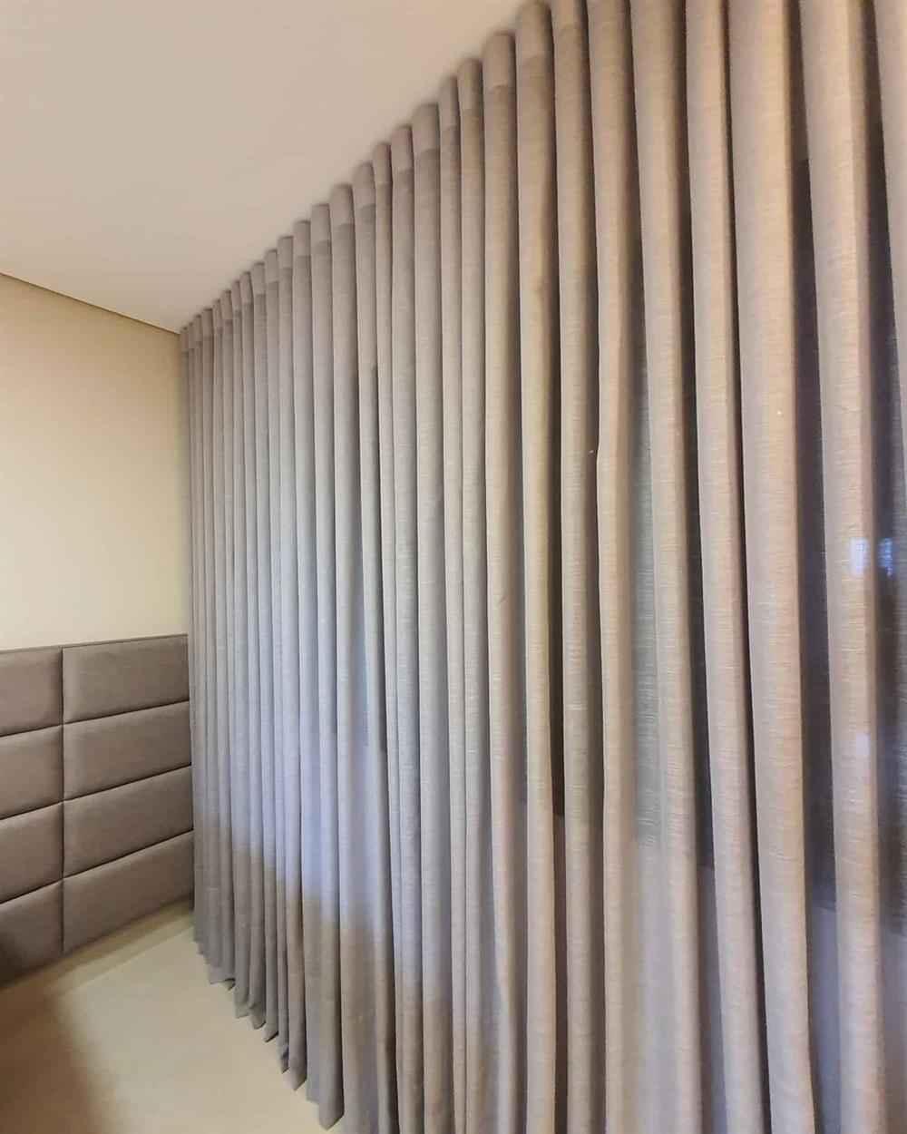 cortina para decorar o quarto