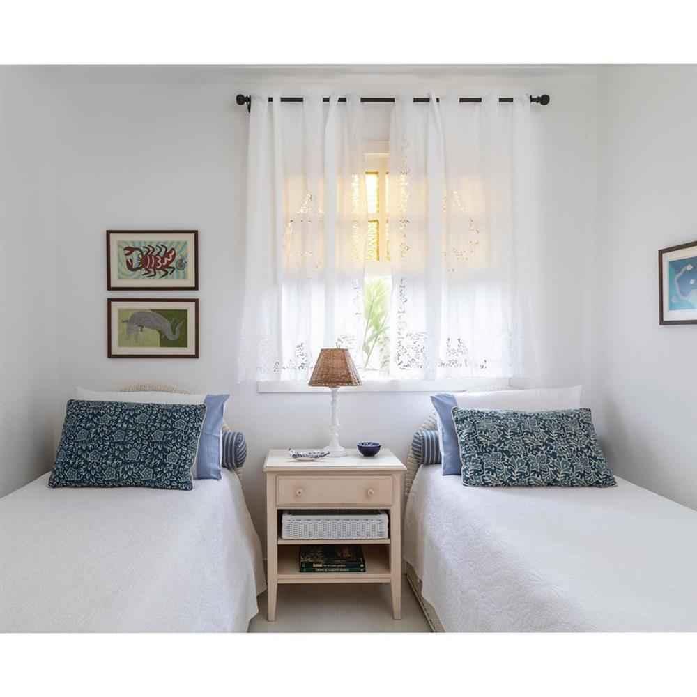cortina de renda para quarto