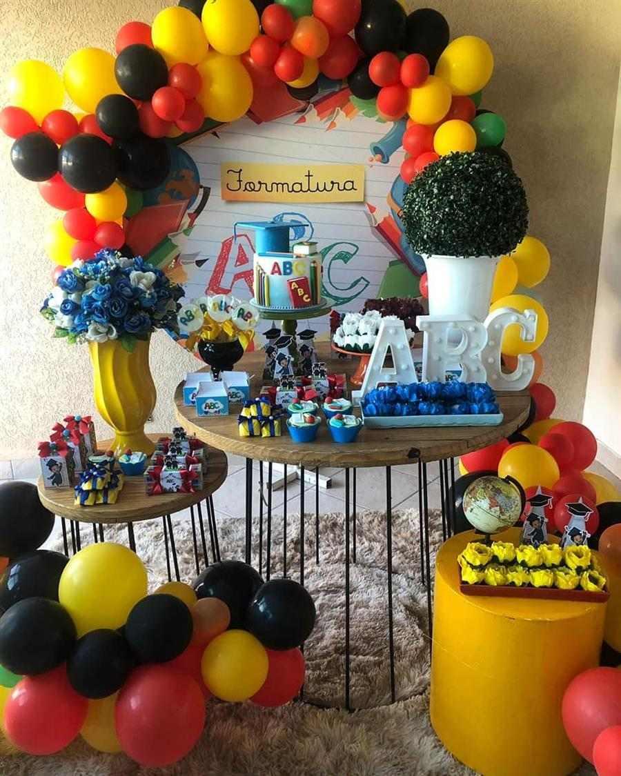 decoração festa formatura abc