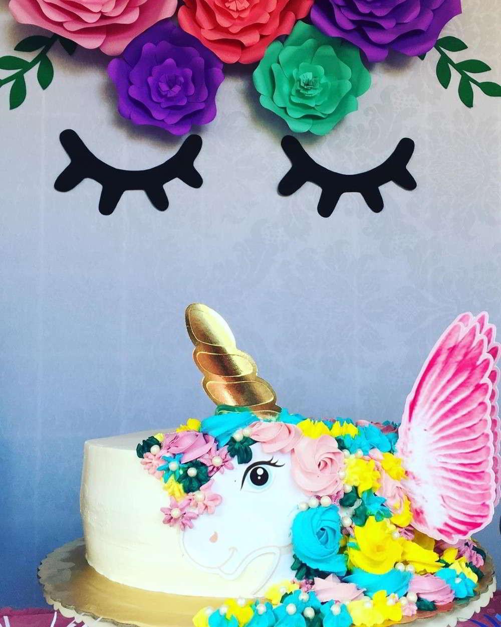 topo de bolo papel