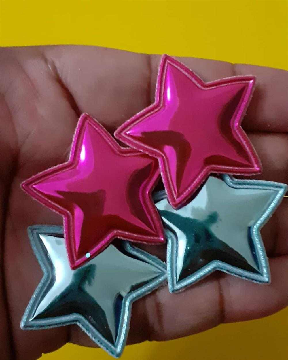 aplique de estrelas