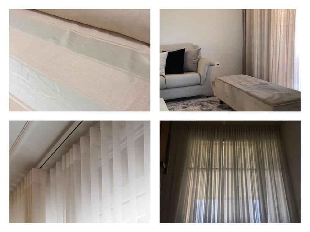 tipos de tecido de cortina