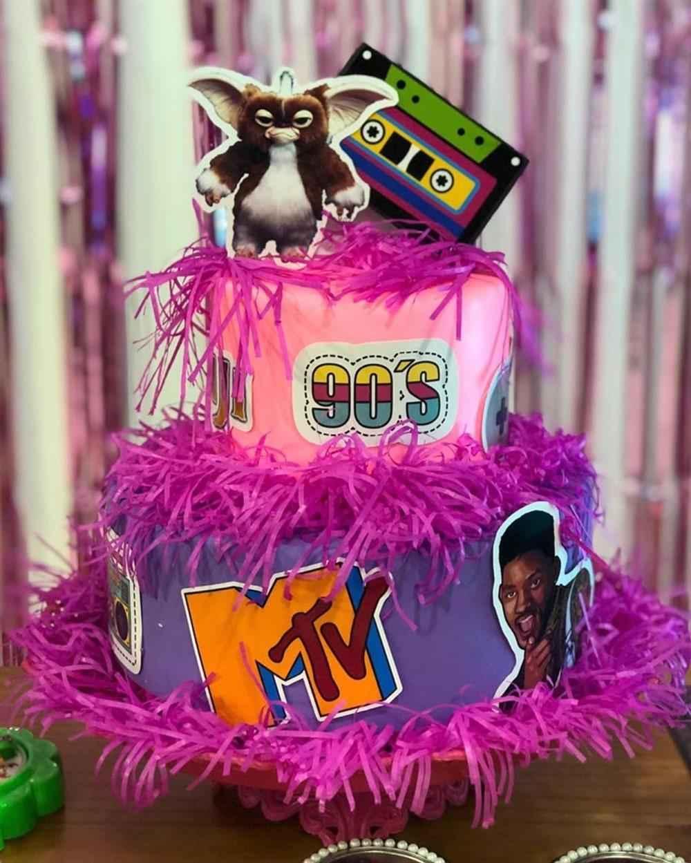 bolo decoração simples