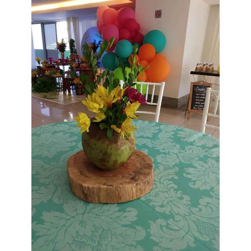centro de mesa coco