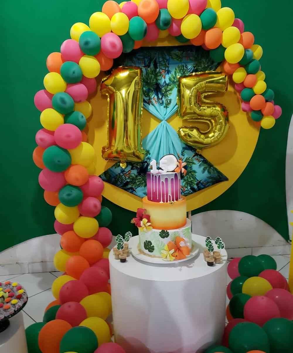 festa tropical 15 anos