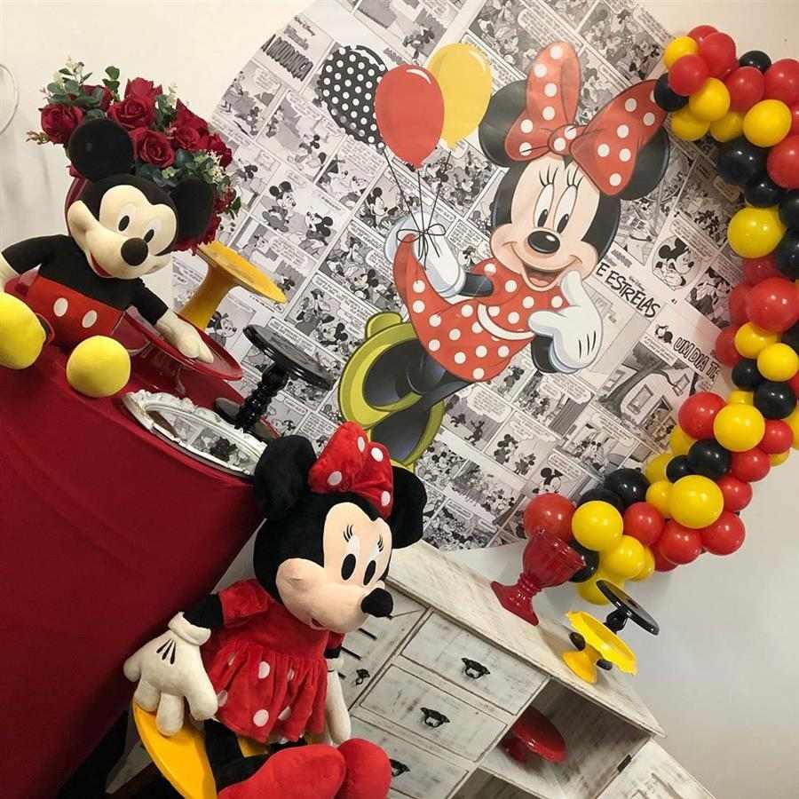 Festa tema mickey e Minnie