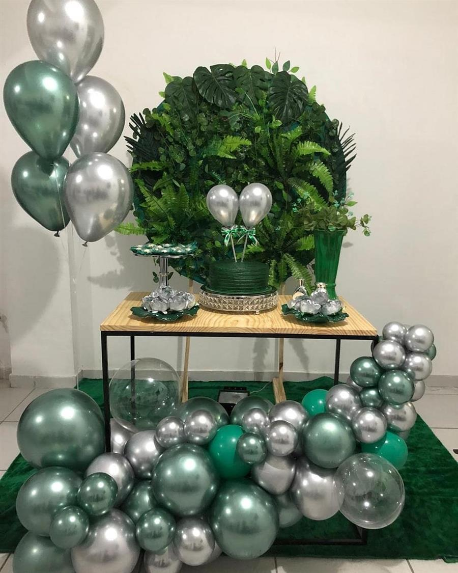 festa masculina verde