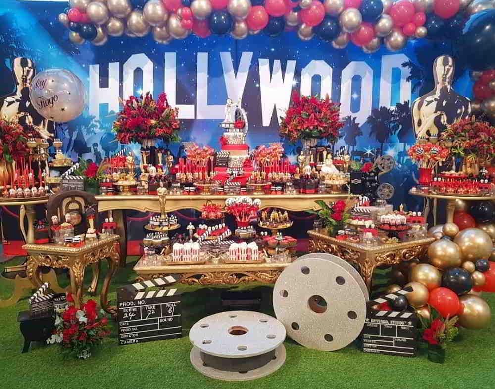 Decoração Hollywood