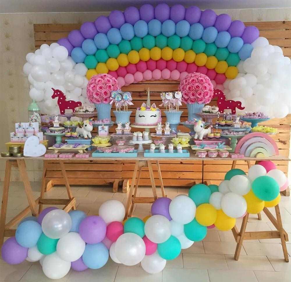 Tema de festa infantil unicornio