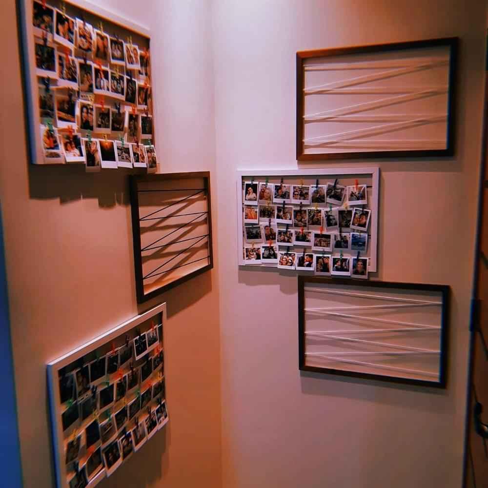 Fotos em molduras