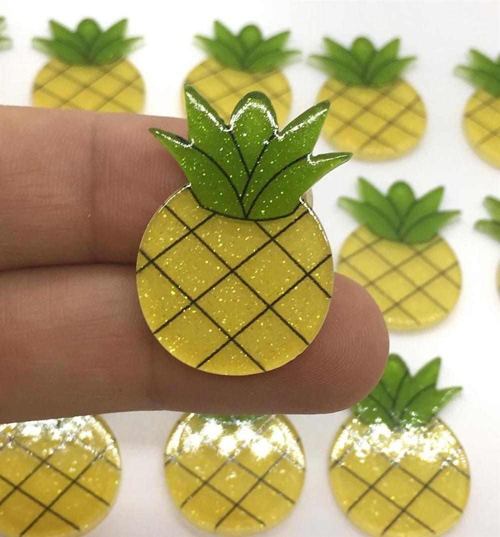 aplique de abacaxi
