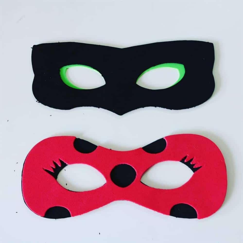 mascaras de eva