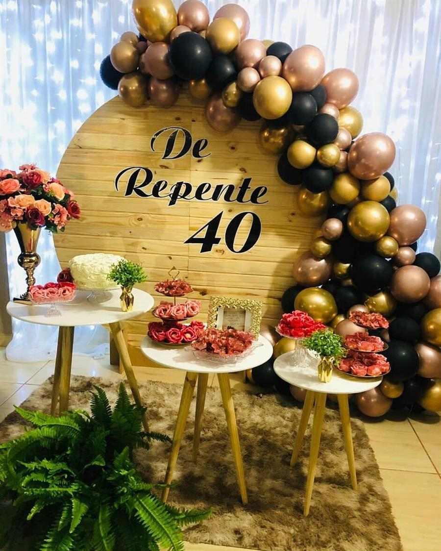 Festa adulto feminina 40 anos