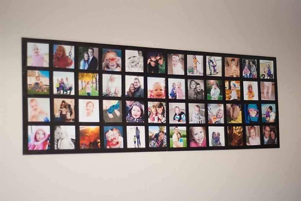 mural de fotos de eva