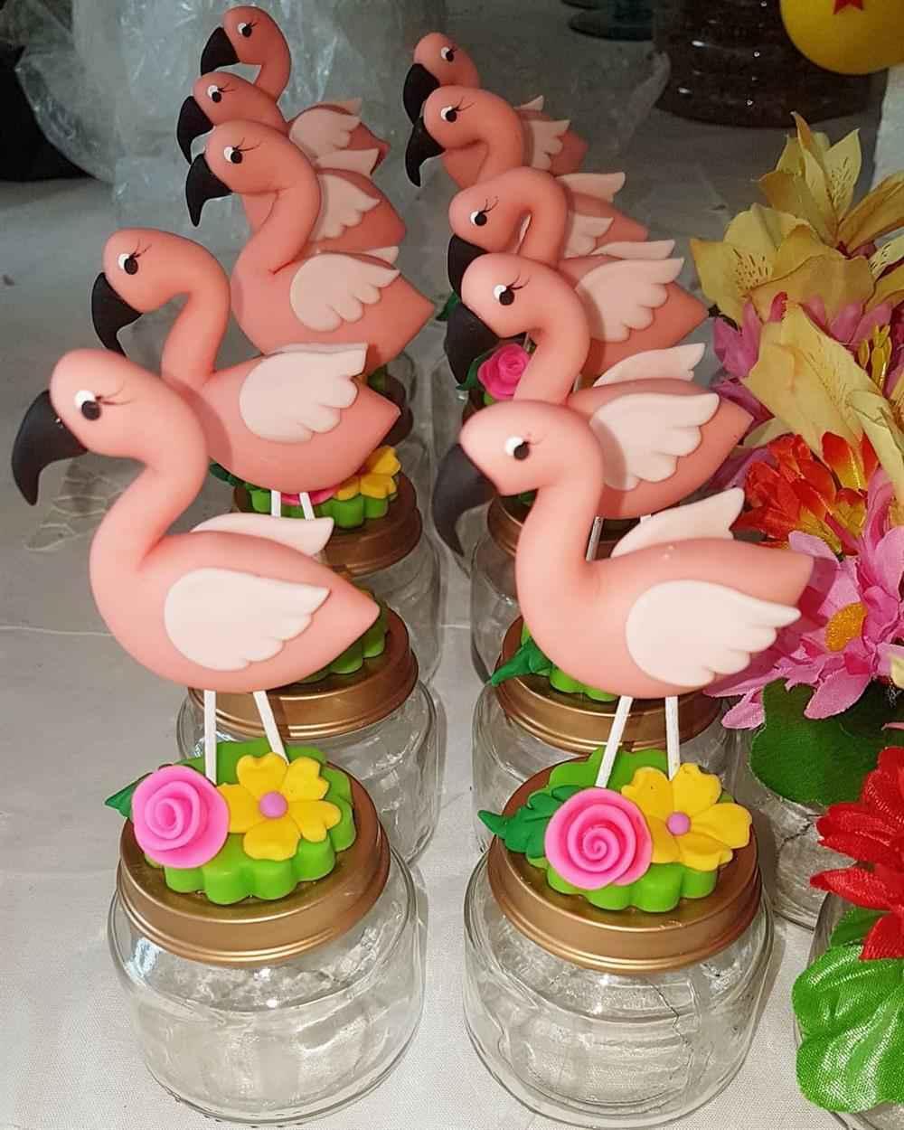 potinhos decorado com biscuit