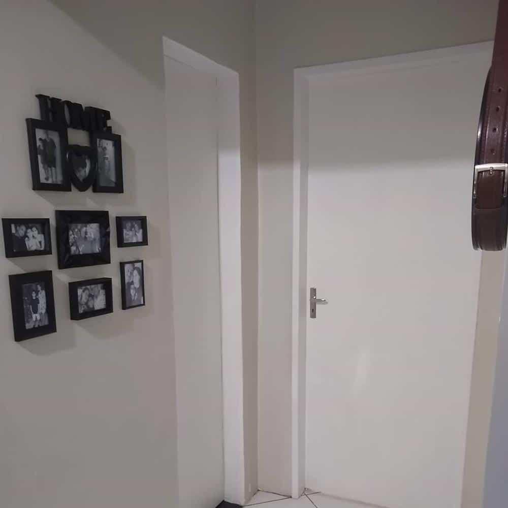 mural de fotos com molduras