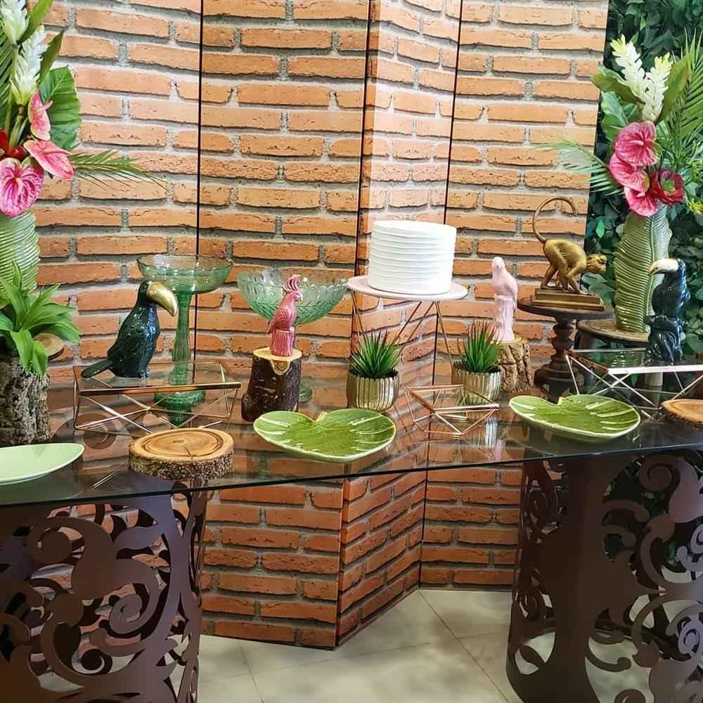festa luxuosa tropical