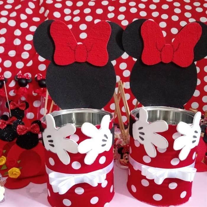 Latinha decorada e personalizada com lata de leite
