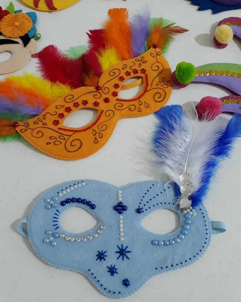 mascara de carnaval de eva