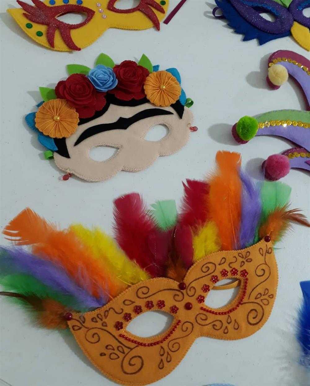 mascaras divertidas pra carnaval