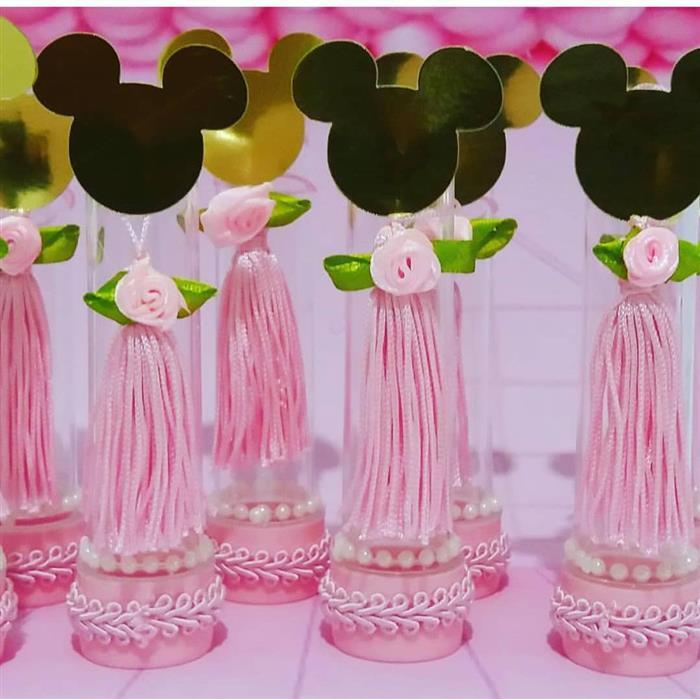Mimo de luxo do Minnie rosa decorado