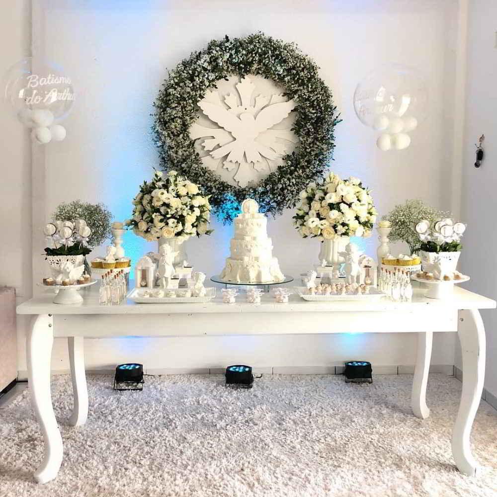 decoração branca