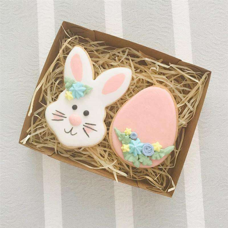 decoração de biscoitos de pascoa