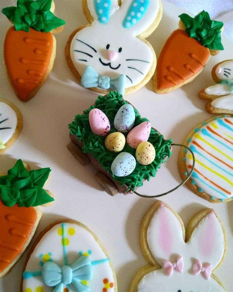 biscoitos decorados para a pascoa 2020