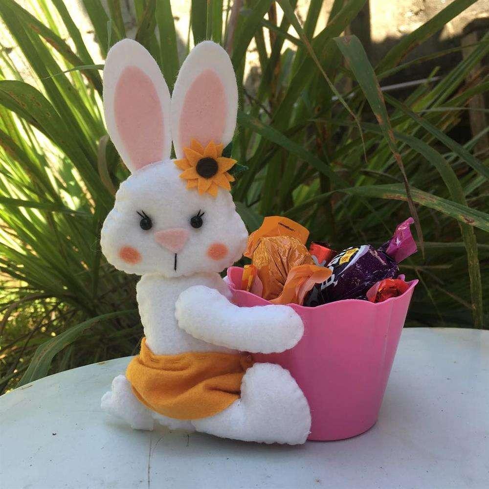 coelhinhos decorados para vender