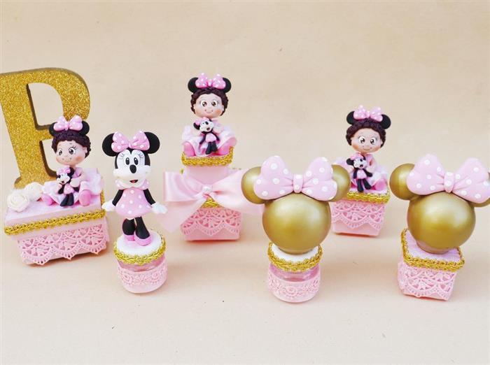 Modelos de lembrancinhas da Minnie rosa