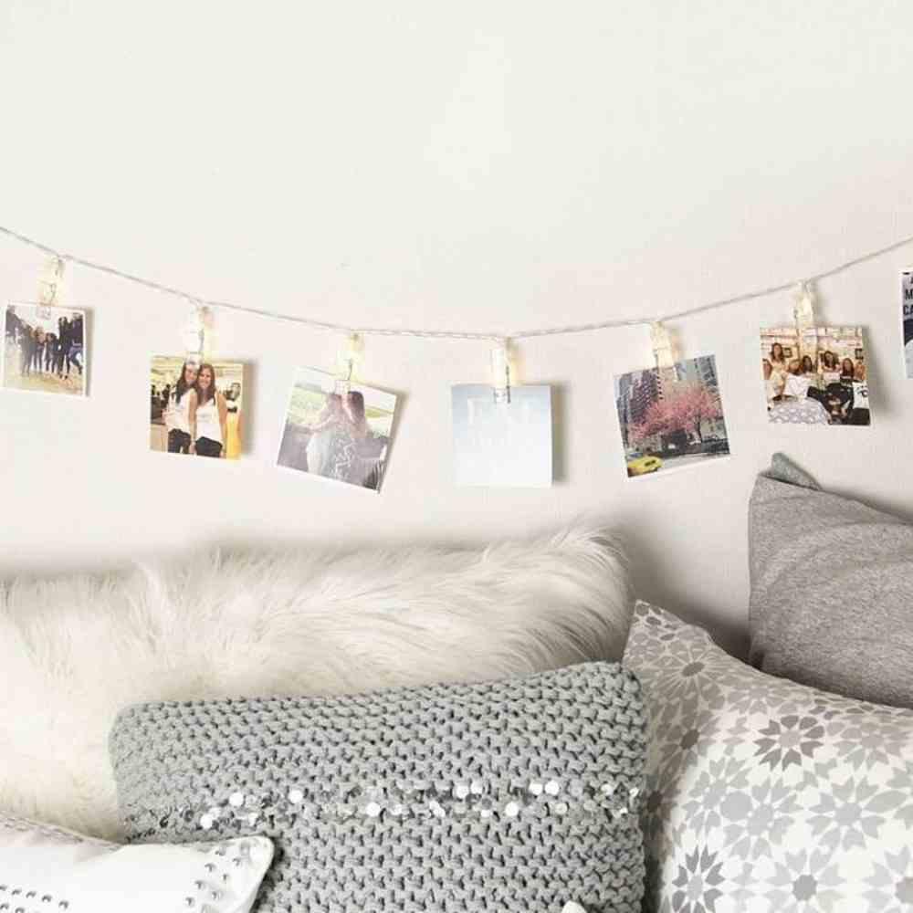 parede de lembranças