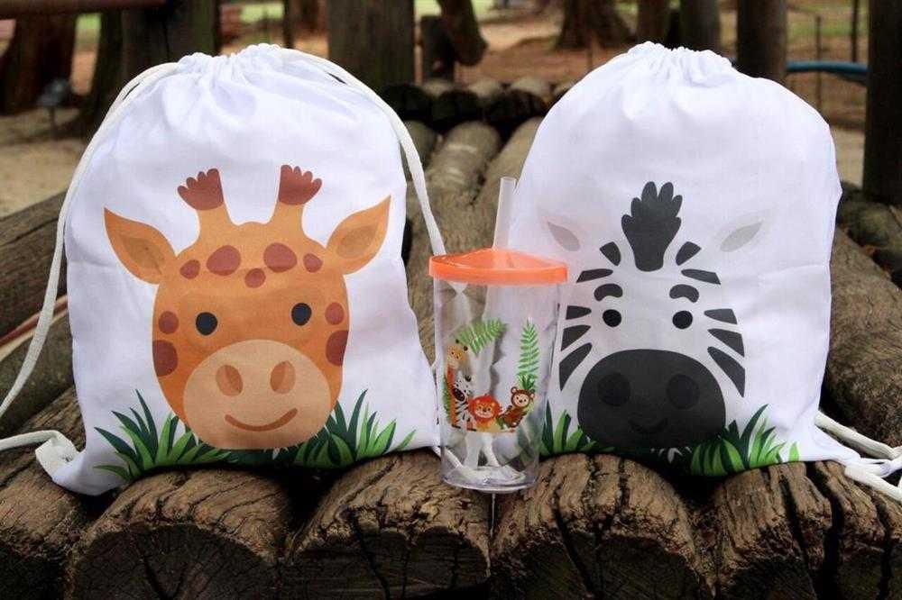 kit personalizado safari