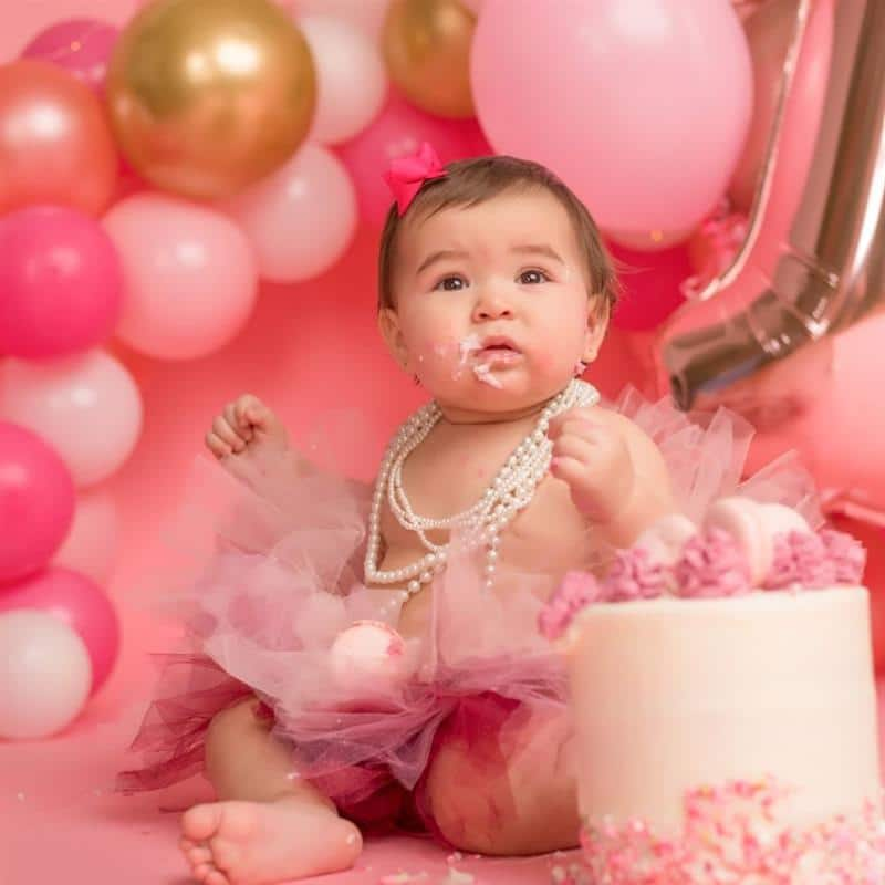 Sua bonequinha fica uma princesinha