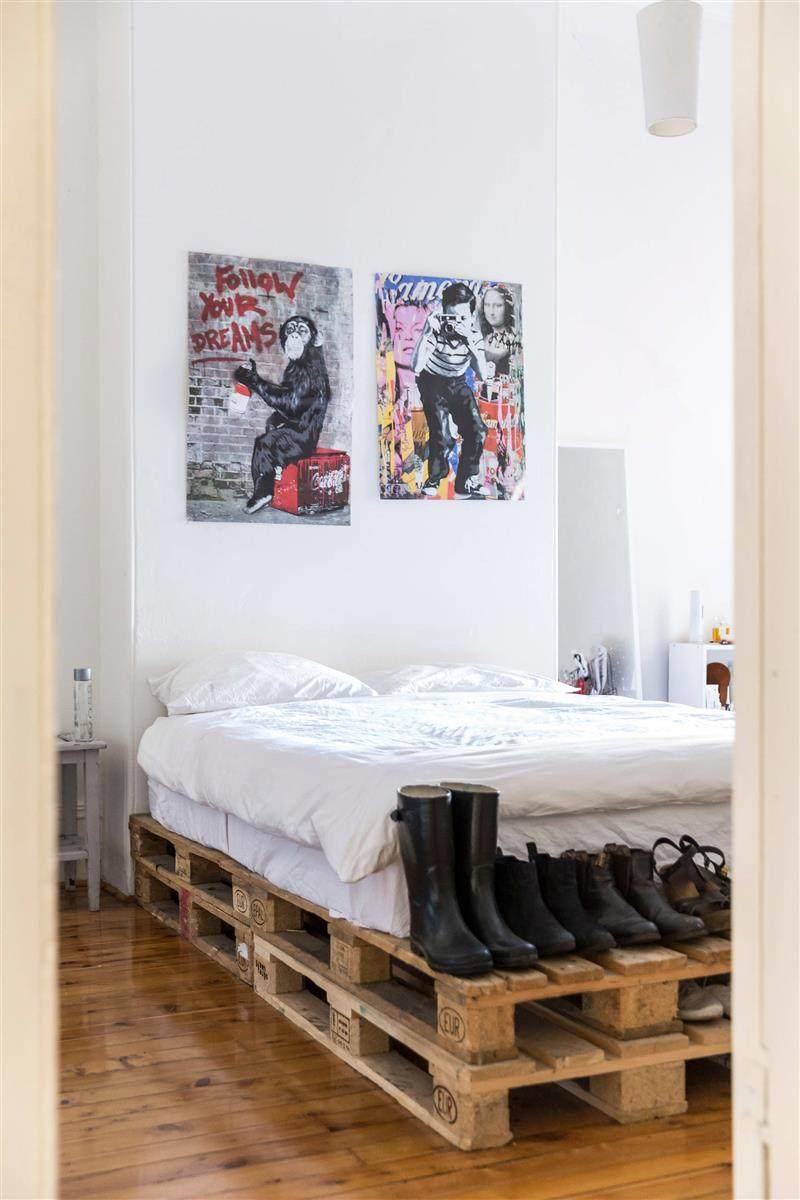 base de pallet para cama