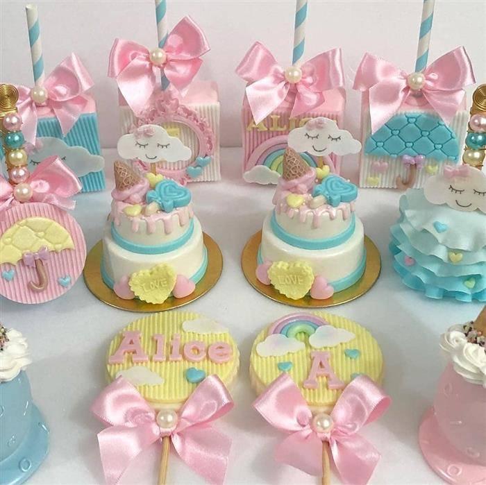 doces decorados