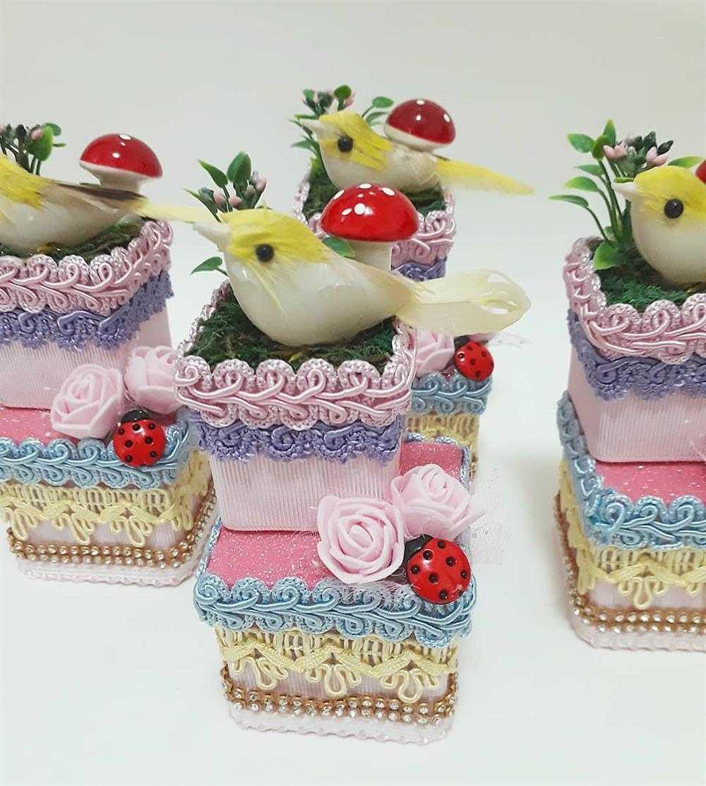 caixinhas acrilicas decoradas