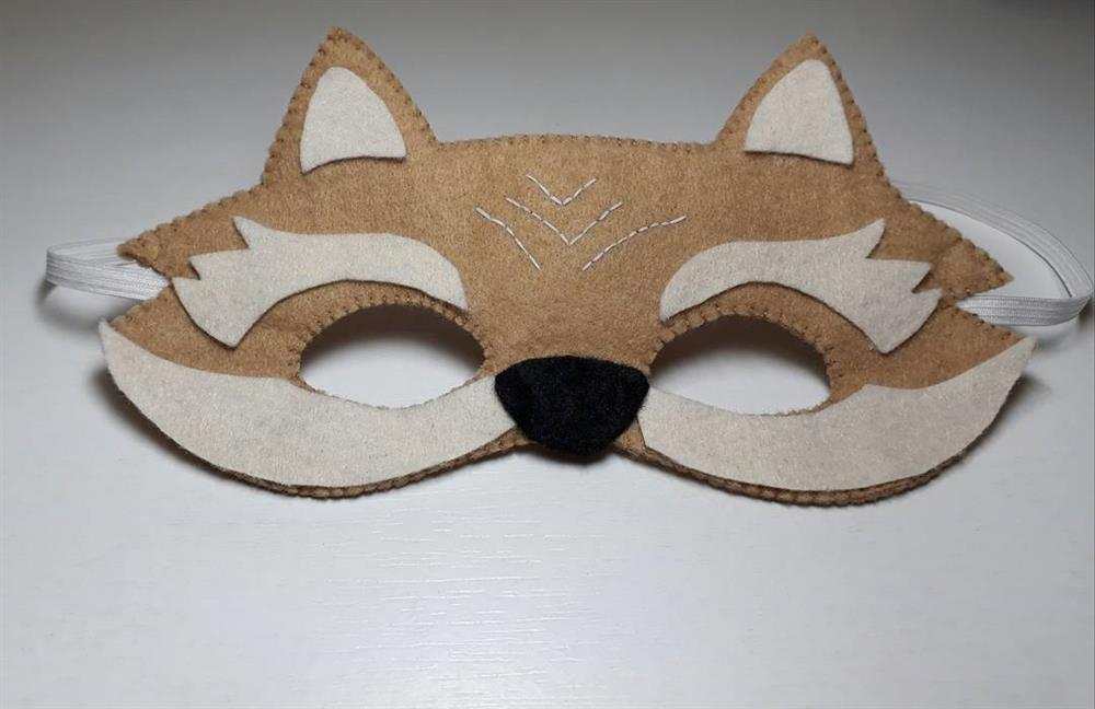 mascara de raposinha