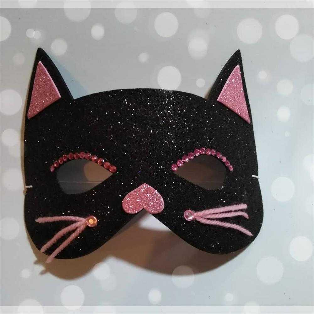 mascara de gatinho infantil
