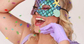 mascara estilo sereia