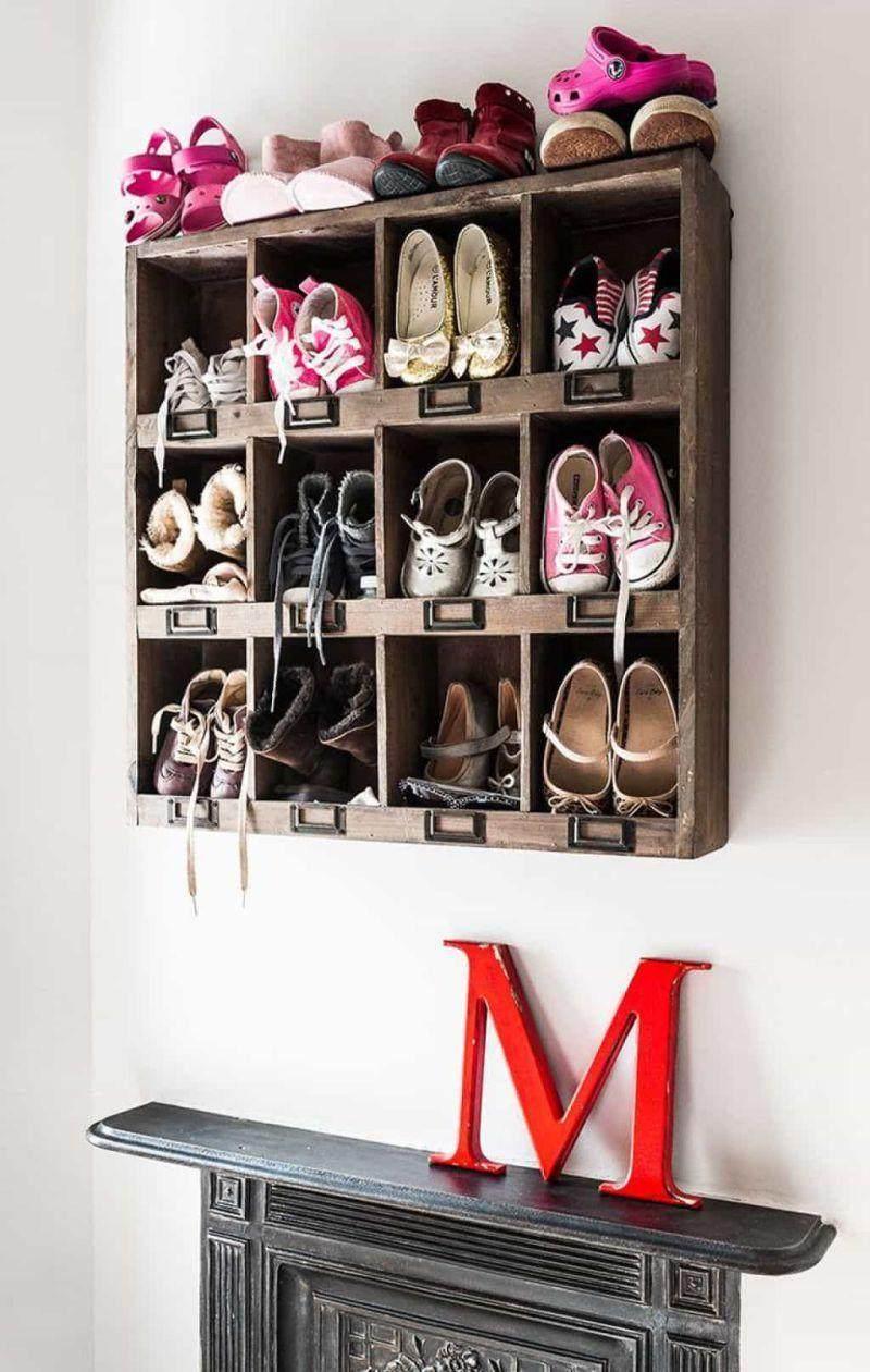 porta sapatos infantil