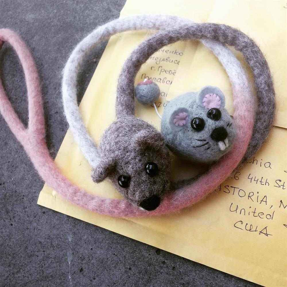 rato de pelucia