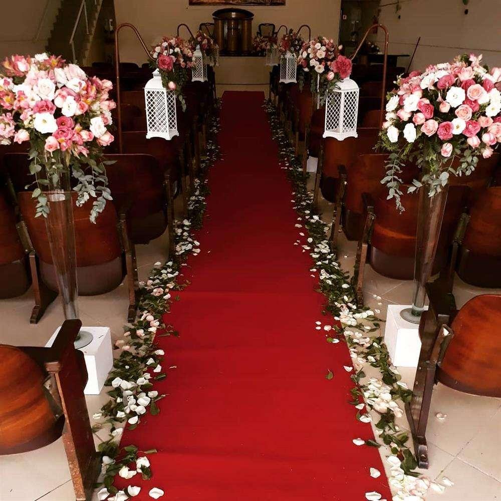 decoração de casamento com lanterna