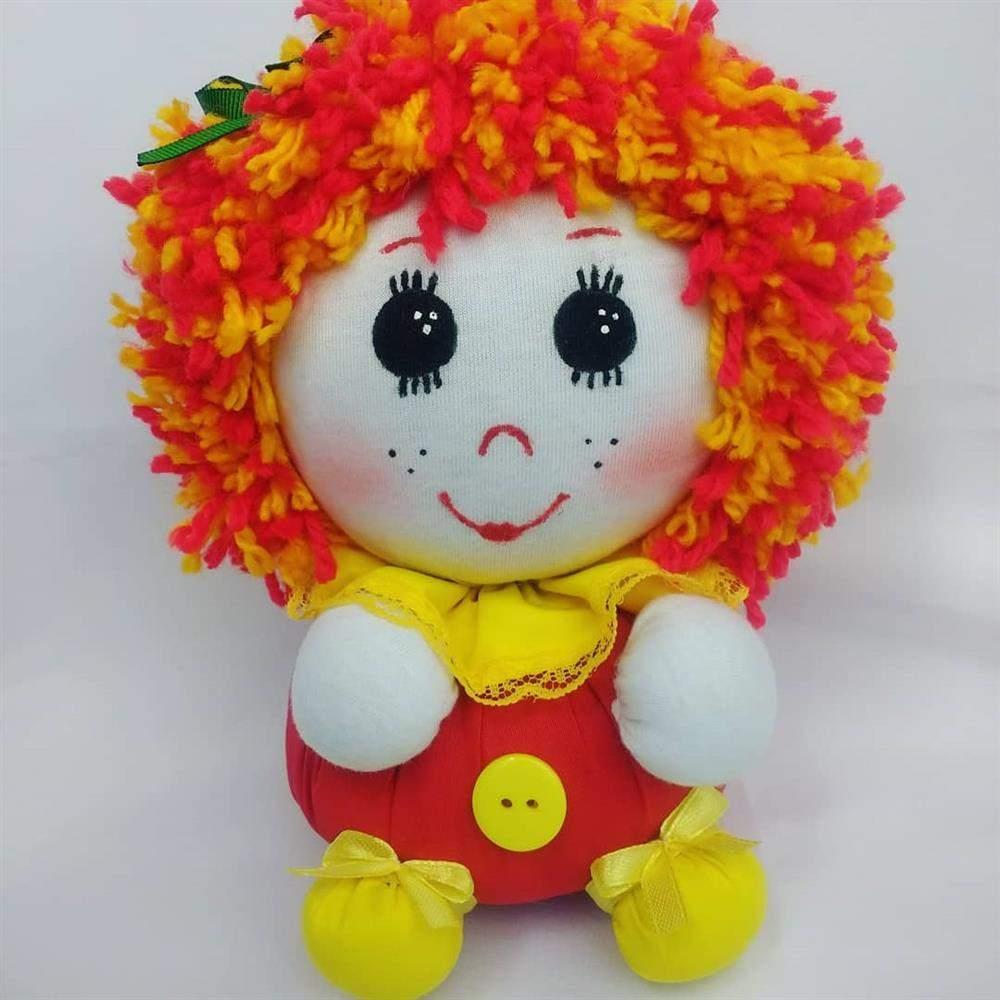 boneca de fuxico emília