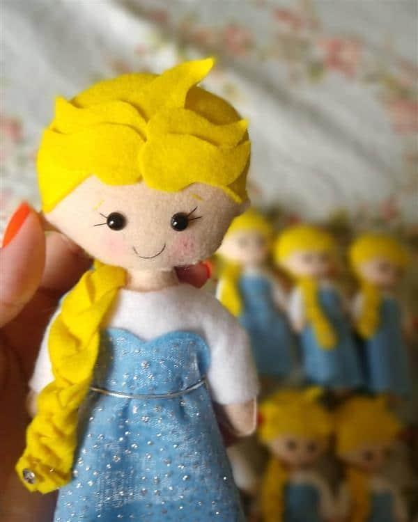 Elsa de feltro