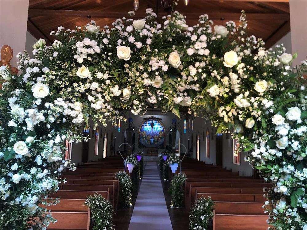arco para entrada de casamento