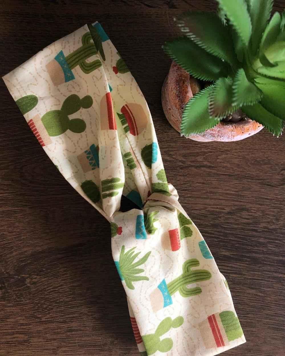 tiara de tecido da moda