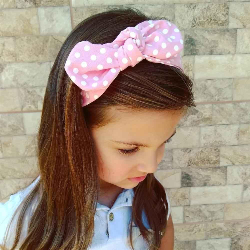 tiara de bolinhas infantil